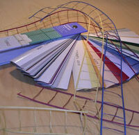 persienner i olika färger