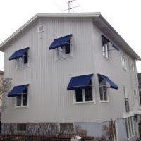 Dukbyte fönstermarkis efter