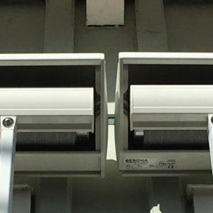 Fönstermarkis DA32 ihopkopplad med axel